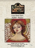 Rejoice - Cross Stitch from Teresa Kogut ~ Nashville 2019