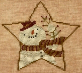Star Shaped Snowman from Teresa Kogut