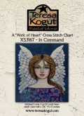 Work of Heart ~ In Command ~ Cross Stitch from Teresa Kogut ~ Nashville 2020!