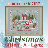 Christmas Stitch A Long Mystery Complete Series from Tiny Modernist Inc