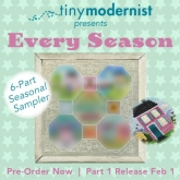 Every Season Mystery series Part 1 from Tiny Modernist ~ Nashville 2020!