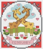 Year of Animal Fun & Frolics ~ February from Tiny Modernist