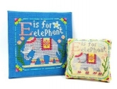 E is for Elephant ~ Happy Alphabet from Tiny Modernist