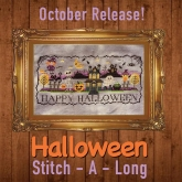 Halloween Stitch A Long Mystery Complete Series from Tiny Modernist Inc.