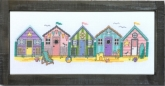 Little Beach Huts from The Tiny Modernist ~ Available soon!