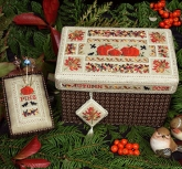 Beautiful Finishing 14 ~ Autumn Box ~ from the Victoria Sampler