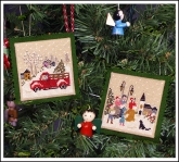 Christmas Memories Ornaments from Victoria Sampler