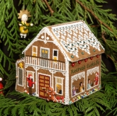 Gingerbread Retreat Cottage (Pt.9) from Victoria Sampler
