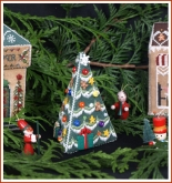 Village Christmas Tree from Victoria Sampler