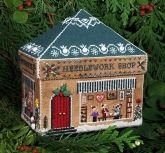 Gingerbread Needlework Shop from the Victoria Sampler