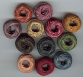 Valdani Thread pack for Rosewood Manor's Quaker Diamonds Sampler