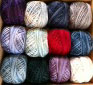 Valdani hand dyed cotton floss thread pack for Rosewood Manor's Winter Quaker