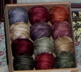 Valdani Thread pack for Rosewood Manor's Spring Quaker Sampler