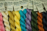 Weeks Dye Works hand dyed Crewel Wool Yarn