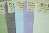 Weavers Cloth from Weeks Dye Works ~ 10 colours to choose from!