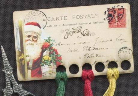 foto de Joyeux Noel Vintage Postcard Thread Keep ~ #16 Vintage Postcard ...