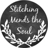 Stitching Mends the Soul ~ Needle Minder from Whimsical Edge Designs