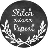 Stitch xxxxx Repeat ~ Needle Minder from Whimsical Edge Designs