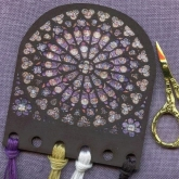 Rose Window/ Vive la Rose Thread keep from Whimsical Edge Designs