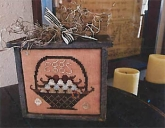 Basket of Eggs ~ Chart or Limited Edition kit from Shakespeare's Peddler ~ Nashville 2018