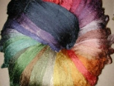 Fibers to Dye For hand dyed silk thread by Amy Mitten