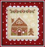 Gingerbread House 2 ~ Chart #4 Gingerbread Village from Country Cottage Needleworks
