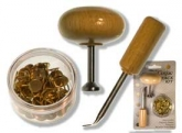 Corjac Tack Kit ~ includes pusher, extractor and 60 steel tacks