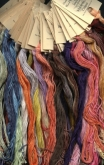 Classic Colorworks / Crescent Colours Hand Dyed Floss Monthly Collector Program ~ 6 skeins