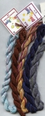 Dinky Dyes Hand Dyed Silk Thread