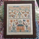 Gertrude's Garden from Just Stitching Along ~ Nashville 2018 ~ 1 only!