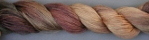 Gloriana Hand Dyed Luminescence 100/3 Silk Thread ~ 20 yard skein