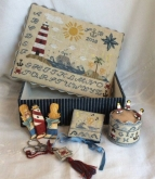 Mermaids Song Sewing Box from Mani di Donna