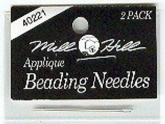 Applique Beading Needles from Mill Hill ~ package of 2
