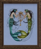 Twin Mermaids from Mirabilia Designs