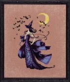 Raven ~  Bewitching Pixies Series from Nora Corbett Designs