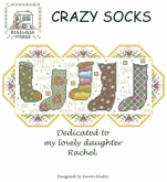 Crazy Socks from Rosewood Manor