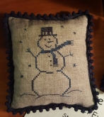 Stoneware Snowman Pinpillow kit from Priscilla's Pocket ~ Nashville 2018