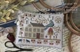 Summer Schoolhouse Series ~ Lessons in Abecedarian ~ Country Stitches/With Thy Needle & Thread